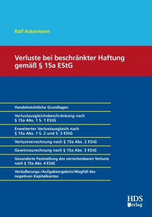 Verluste bei beschränkter Haftung nach § 15a EStG